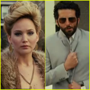 Jennifer Lawrence & Bradley Cooper: 'American Hustle' Trailer!