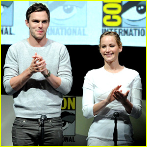 Jennifer Lawrence & Nicholas Hoult: 'X-Men' Comic-Con Panel!