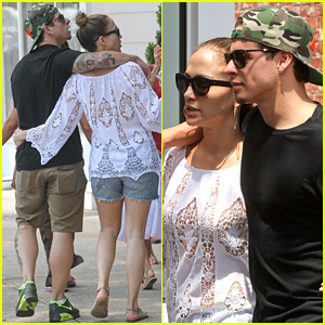 Jennifer Lopez & Casper Smart: Hamptons Weekend Trip!