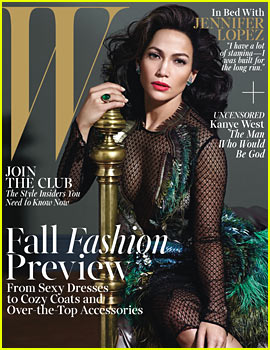 Jennifer Lopez Covers 'W' Magazine August 2013