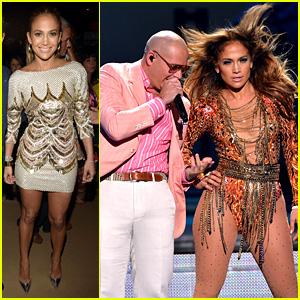 Jennifer Lopez Wins & Performs at Premios Juventud 2013!