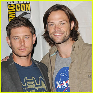 Jared Padalecki & Jensen Ackles: 'Supernatural' at Comic-Con!