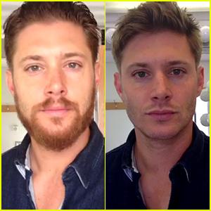 Jensen Ackles Shaves Hiatus Beard for 'Supernatural'