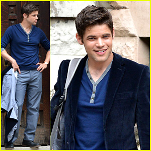 Jeremy Jordan: 'Last 5 Years' Monday Morning Shoot
