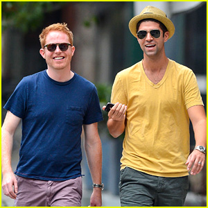 Jesse Tyler Ferguson & Justin Mikita: Newlyweds in New York!