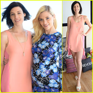 Jessica Pare & Jaime King: Revolve Beach House Summer Style Day