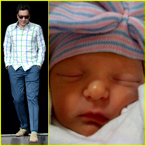 Jimmy Fallon Shares Daughter Winnie's First Photo!