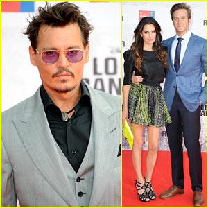 Johnny Depp & Armie Hammer: 'Lone Ranger' Berlin Premiere!
