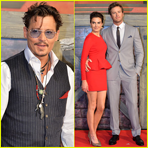 Johnny Depp & Armie Hammer: 'Lone Ranger' Japan Premiere!
