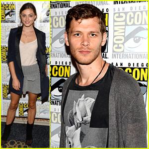 Joseph Morgan & Phoebe Tonkin: 'The Originals' at Comic-Con!
