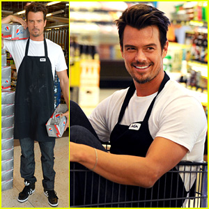 Josh Duhamel Takes Over Supermarket for Diet Pepsi (Video)