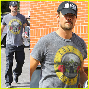 Josh Duhamel: Rock 'N' Roll Morning Workout