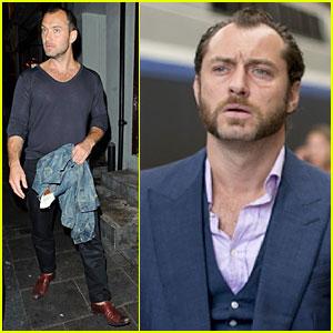 Jude Law: New 'Dom Hemingway' Still!