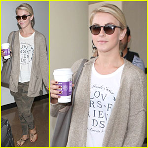 Julianne Hough Trades Tennessee for California Driver's License!