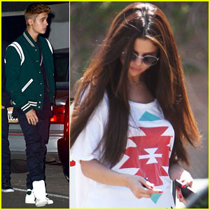 Justin Bieber Attends Selena Gomez' Birthday Party | brian teefey