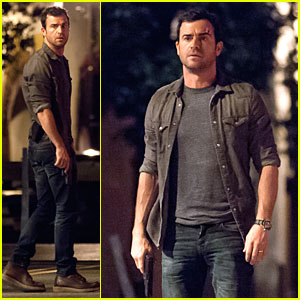 Justin Theroux: Gun Scene on 'The Leftovers' Set!