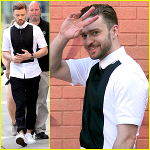 Justin Timberlake Films New Music Video in New York City!