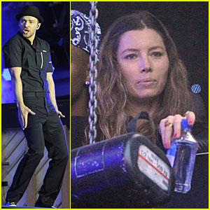Justin Timberlake & Jessica Biel: Yahoo Wireless Festival!