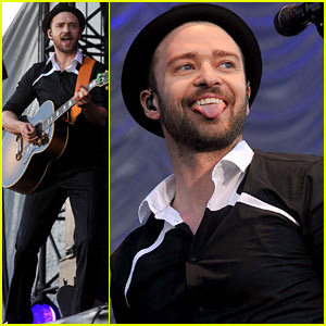 Justin Timberlake Performs After 'Take Back the Night' News!