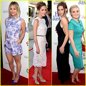 Kaley Cuoco & Rose Byrne: 'Blue Jasmine' Premiere!
