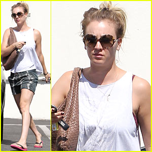 Kaley Cuoco Steps Out After Henry Cavill Dating Rumors