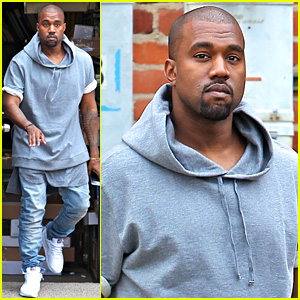 Kanye West Shops for Furniture, Reportedly Naps with North