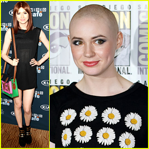 Karen Gillan Bares Shaved Head for 'Guardians of the Galaxy'!