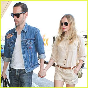 Kate Bosworth & Michael Polish: 'Big Sur' Support at LAX!