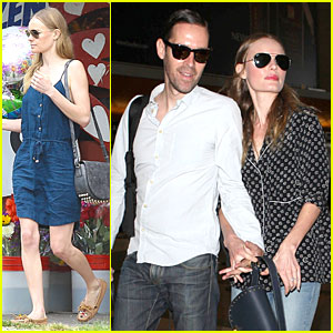Kate Bosworth & Michael Polish Hold Hands for South Korea Flight!