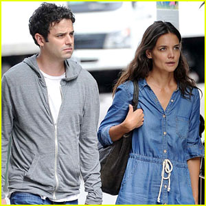 Katie Holmes & Luke Kirby: Back to Work on 'Mania Days'!