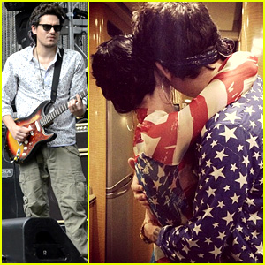 Katy Perry & John Mayer Celebrate Fourth of July Together!