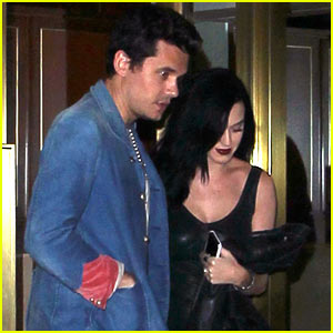 Katy Perry & John Mayer Stick Close After Dinner Date!