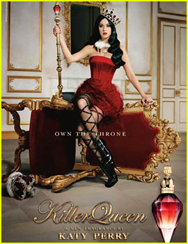 Katy Perry: 'Killer Queen' New Fragrance Campaign Image!