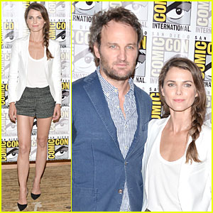 Keri Russell & Jason Clarke: 'Dawn Of The Planet Of The Apes' at Comic-Con!