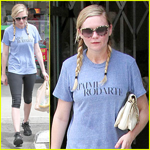 Kirsten Dunst Fuels with 7-Eleven Before Workout!