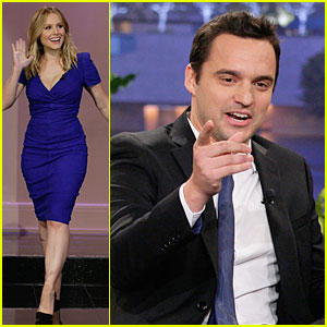 Kristen Bell & Jake Johnson: 'Tonight Show with Jay Leno' Guests!
