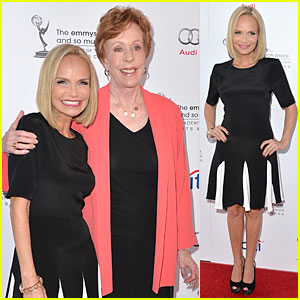Kristin Chenoweth Spends Evening with Carol Burnett!