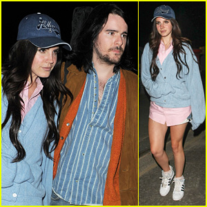 Lana Del Rey: Studio Exit with Boyfriend Barrie James O'Neill!