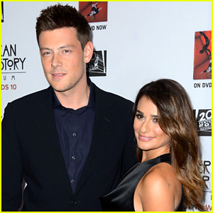 Lea Michele Honors Cory Monteith with Memorial Service