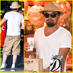 Leonardo DiCaprio: Fourth of July Grocery Shopping!