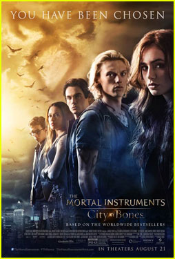 Lily Collins & Jamie Campbell Bower: New 'Mortal Instruments' Poster!