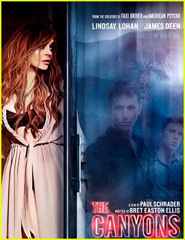 Lindsay Lohan: New 'Canyons' Poster!