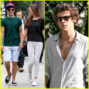 Louis Tomlinson Holds Hands with Eleanor Calder in Montreal