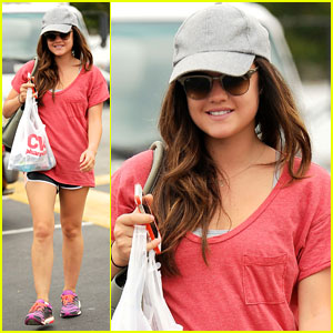 Lucy Hale: Pray for Cory Monteith's Family