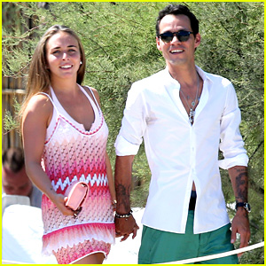 Marc Anthony & Chloe Green: St. Tropez Vacation!