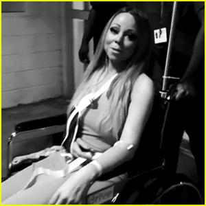 Mariah Carey Posts Video Leaving Hospital Wearing Arm Sling