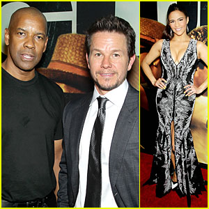 Mark Wahlberg & Denzel Washington: '2 Guns' NYC Premiere!