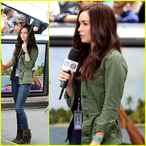 Megan Fox: News Reporting For 'Teenage Mutant Ninja Turtles'!