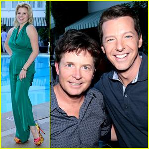 Megan Hilty & Sean Hayes: NBC's Summer TCA Tour Panel!