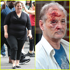 Melissa McCarthy: 'St. Vincent de Van Nuys' Car Scenes with Bloody Bill Murray!